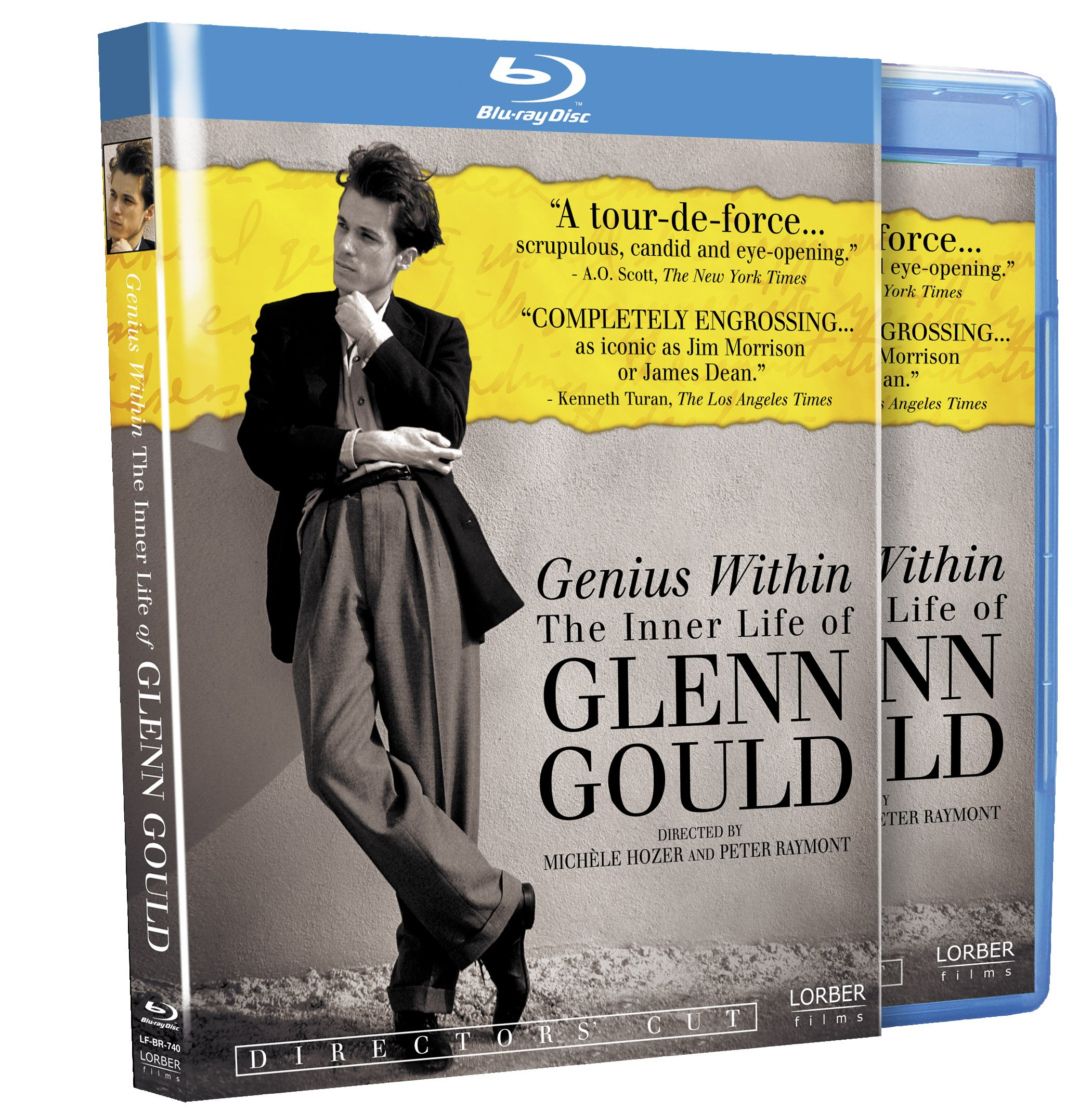 Blu-ray : Genius Within: The Inner Life Of Glenn Gould (O-Card Packaging)
