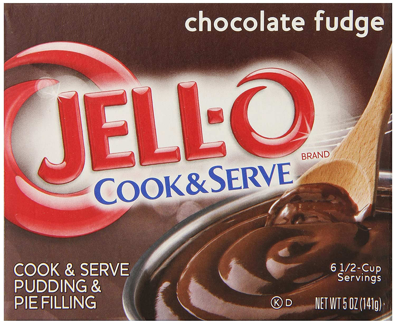 Amazon.com : Jell-O Cook & Serve Pudding & Pie Filling, Chocolate ...