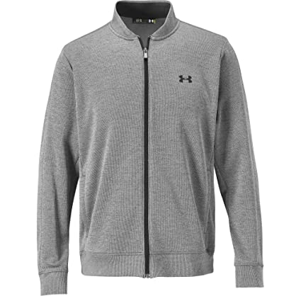 9bf1a70fb5659 Under Armour Storm SweaterFleece Men's Golf Jacket (Steel/Stealth Grey,  Small)