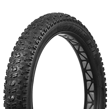 """Vee Rubber Mission Folding Fat Bike Tire 26 x 4.0/"""" Black 120 TPI Trail Mtb"""