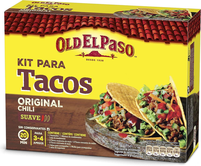 Old El Paso - Kit Para Tacos - 308 gr: Amazon.es: Alimentación y bebidas