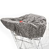Amazon Price History for:Skip Hop Take Cover Shopping Cart & High Chair Cover, Grey Feather
