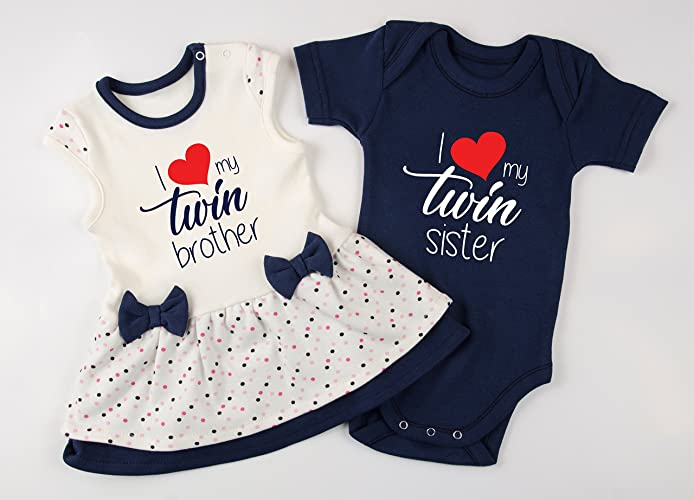 7c335960b86 Amazon.com  Twin Boy and Girl Outfits