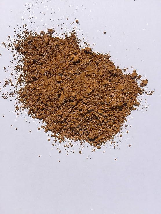 Deep Color Amarillo, ocre amarillo tabaco (1 Lb) pigmento/colorante para cemento, pared PINTURA, cemento, Render, yeso, Pointing, mortero, cerámica, ...
