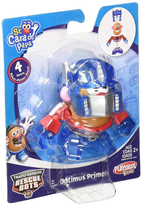 PLAYSKOOL MR. POTATO HEAD TRANSFORMERS MASHABLE HEROES AS OPTIMUS PRIME ROBOT