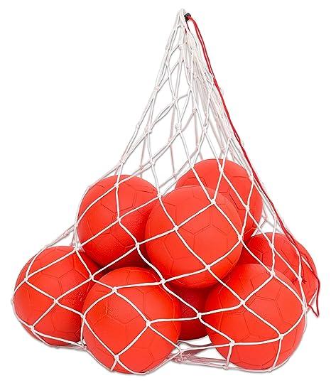 Soft de fútbol - Juego de 10 balones de fútbol, red de uso Fuball ...