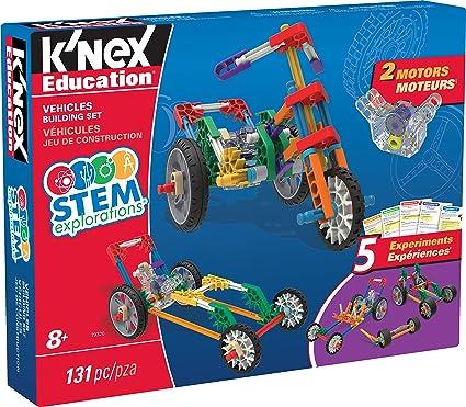 K'NEX Education STEM EXPLORATIONS: Vehicles Building Set Building Kit