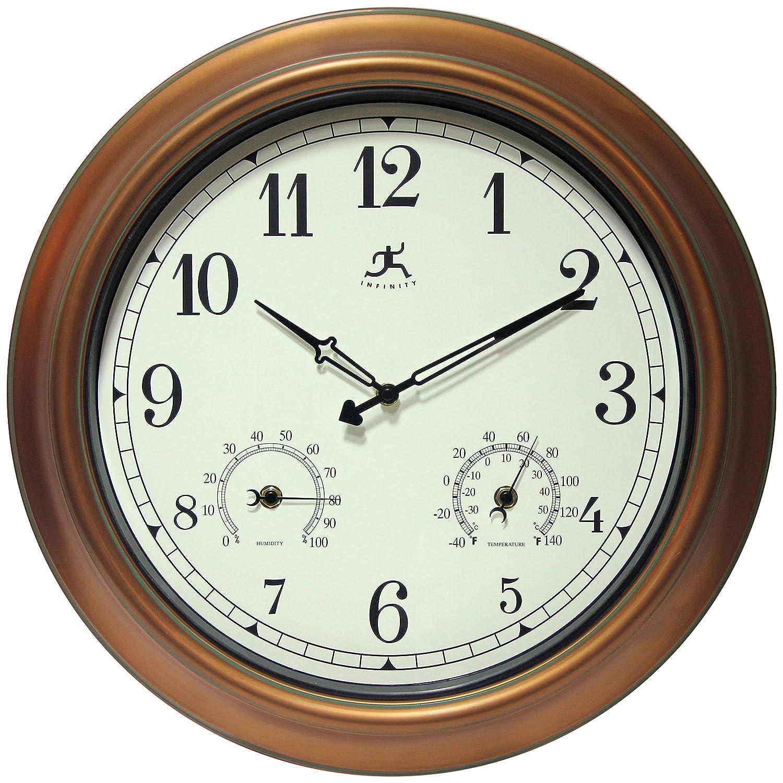Amazon infinity instruments wall clock the craftsman home amazon infinity instruments wall clock the craftsman home kitchen amipublicfo Gallery