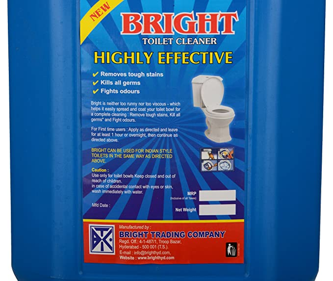 MOP Bright Sparkling Disinfectant Toilet Cleaner - 500 ml
