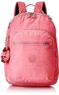 Kipling CLAS SEOUL Mochila escolar, 45 cm, 25 litros, Rosa (City Pink