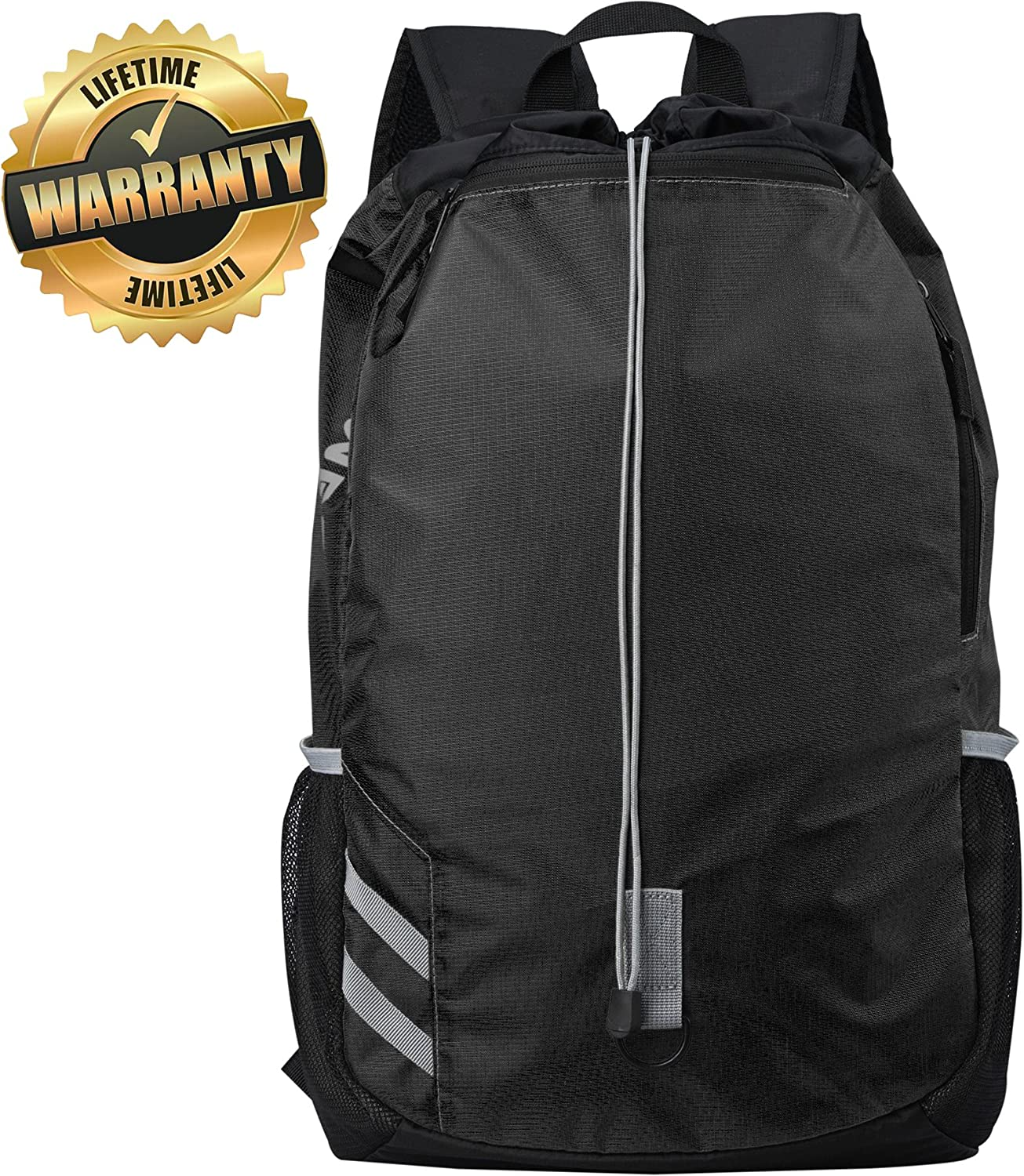 #1 Top Recommended Backpack - Lightweight Drawsting Backpack - Best for Sports, Gym, Travel, Hiking&School 91zOPOYHQIL