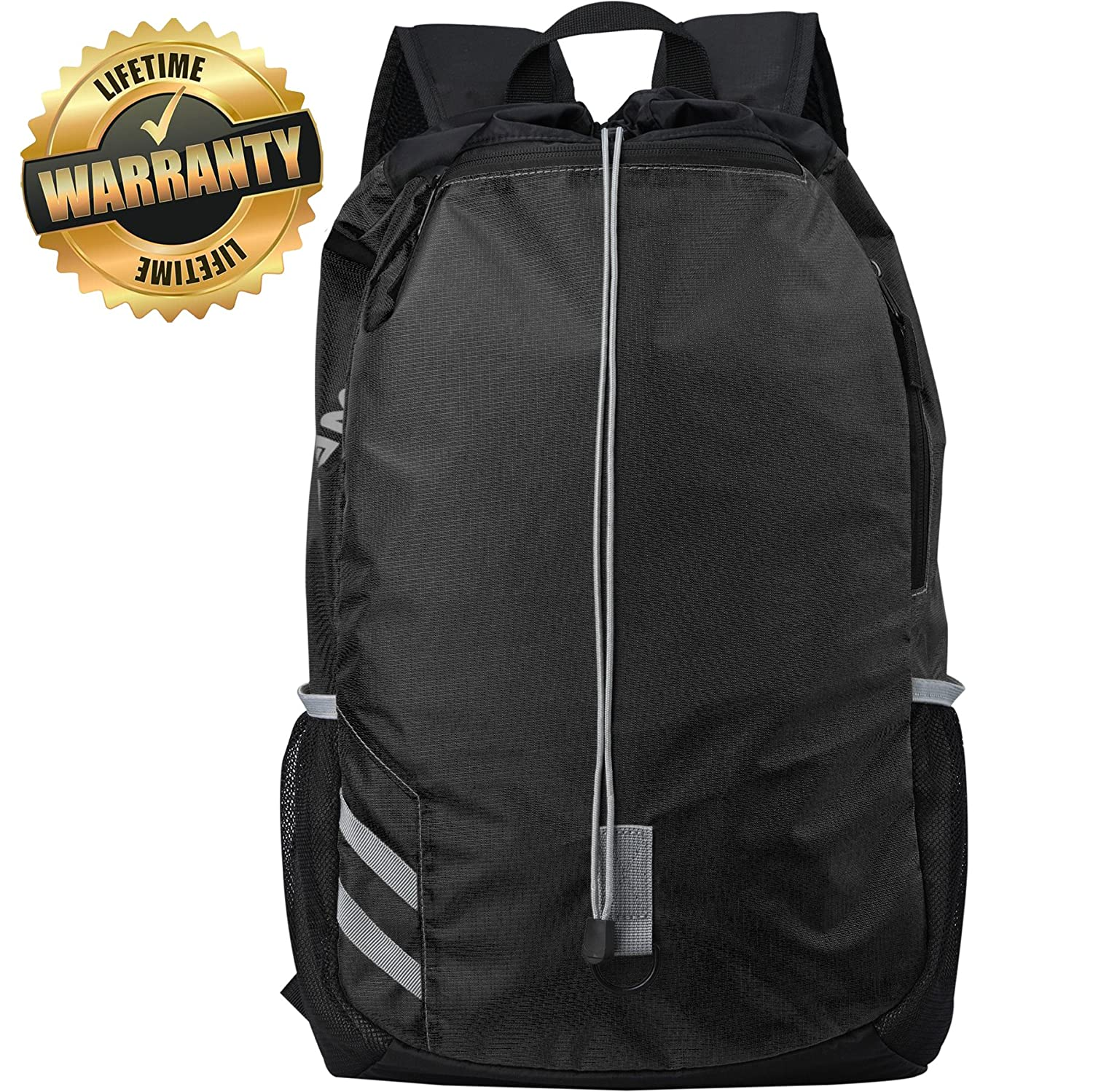 #1 Top Recommended Backpack - Lightweight Drawsting Backpack - Best for Sports, Gym, Travel, Hiking&School WEWEON