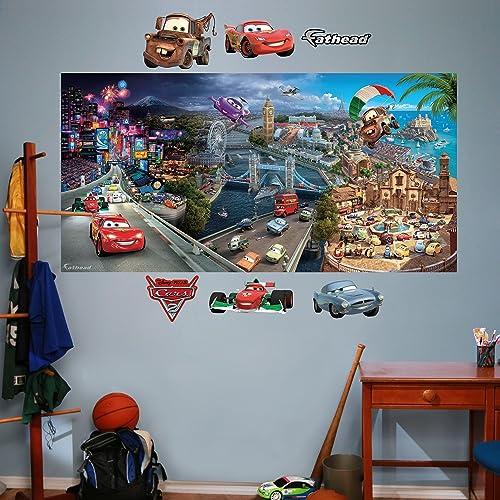 Cars 2 Mural