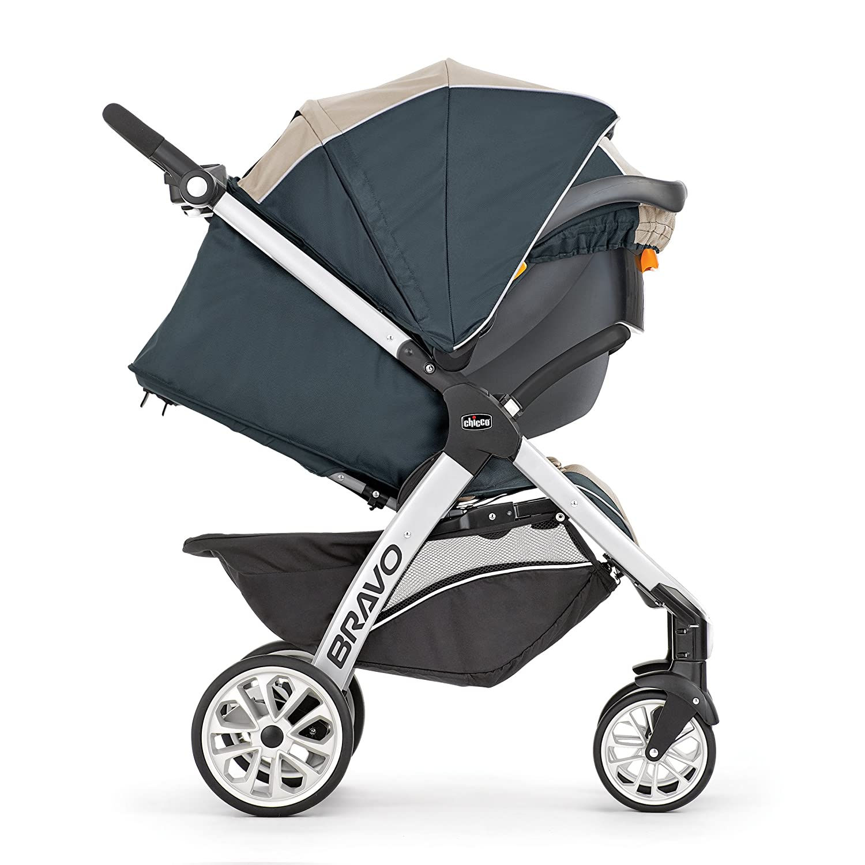 Amazon Com Chicco Bravo Trio Travel System Lilla Baby