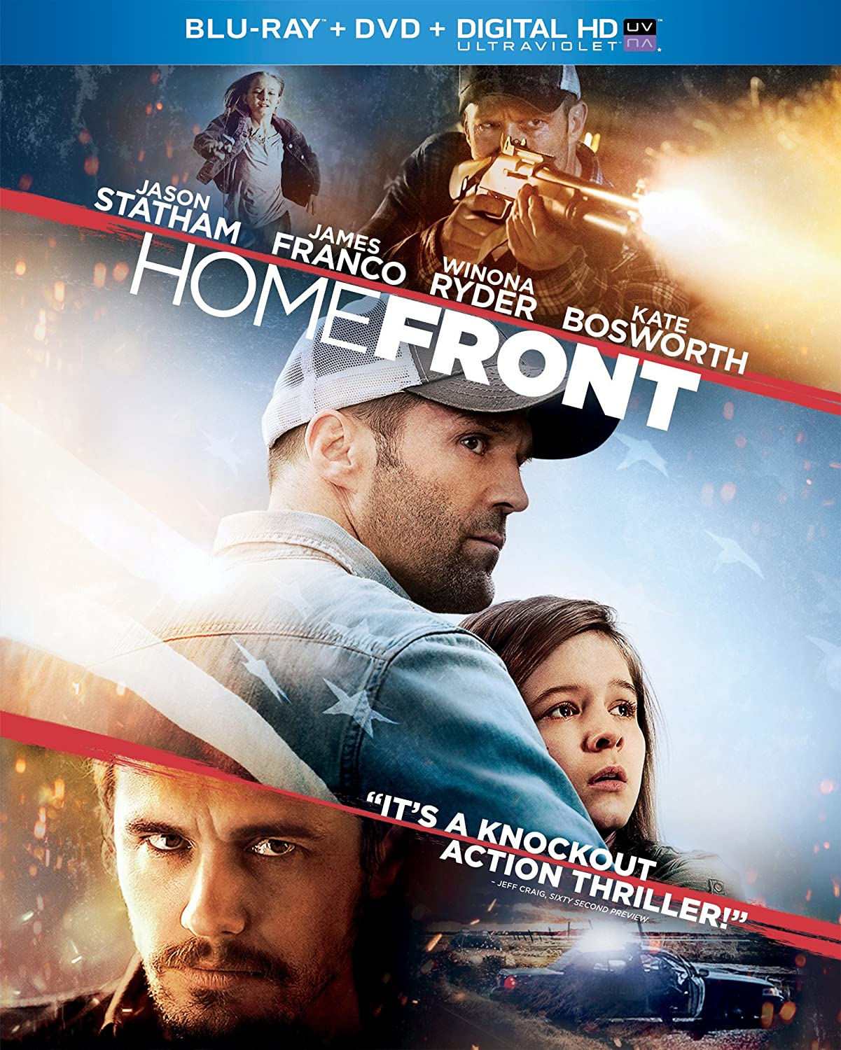 Homefront (Two-Disc Combo Pack: Blu-ray + DVD + Digital HD with UltraViolet)