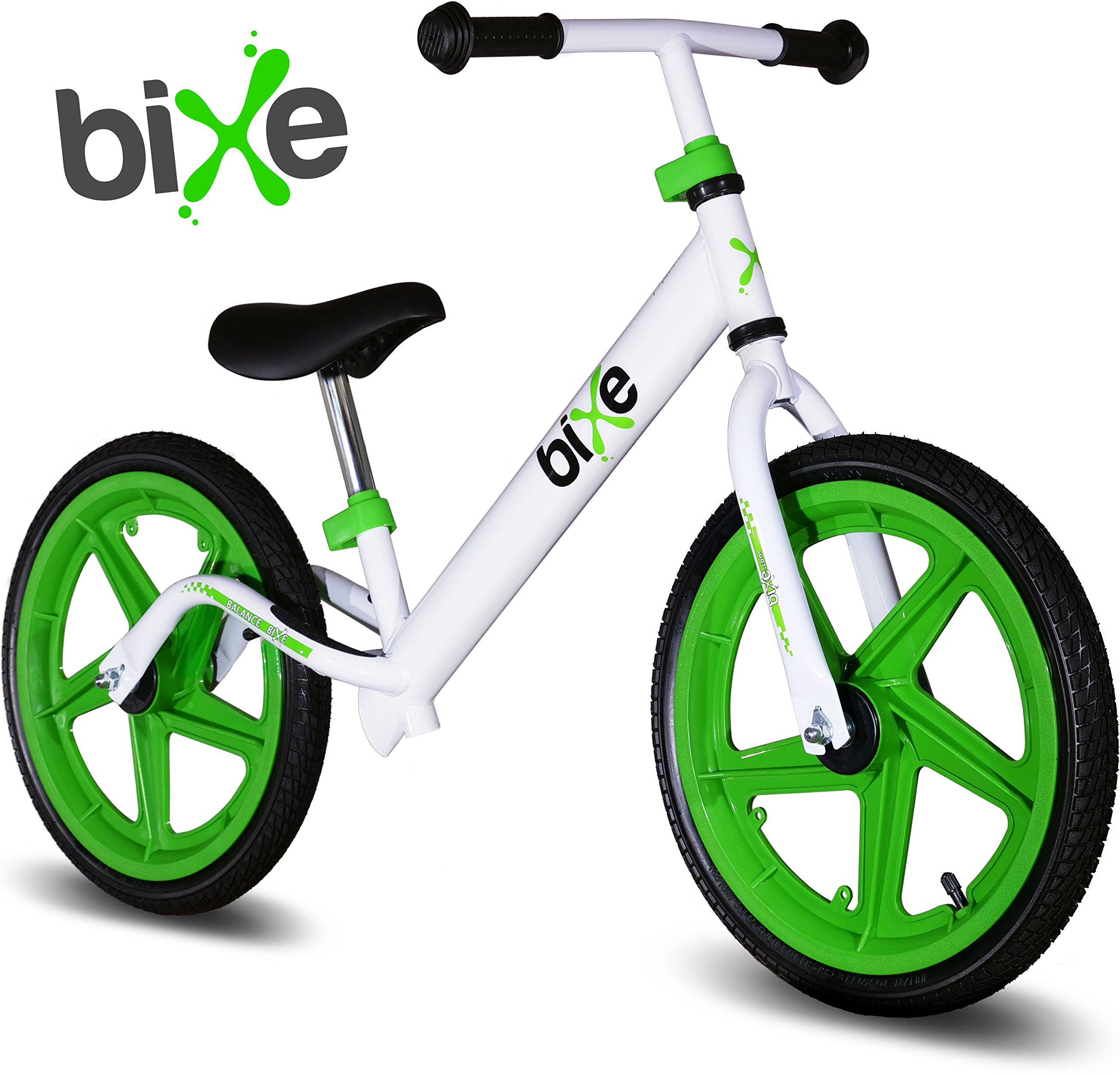 Balance Bike For Big Kids 5, 6, 7, 8 and 9 Years Old (Green) Bixe 16 in