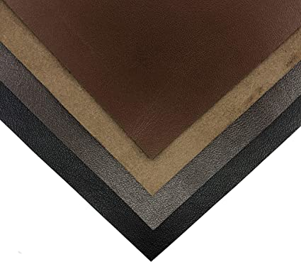 Brown Suede Italian leather leather Genuine sheep leather hide Leather material for sewing 1 mm