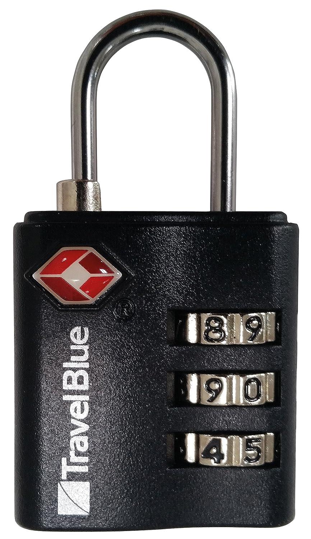 VAUDE Cadenas à Combinaison Uni TSA, Argent/ Noir, Taille Unique VADE5|#VAUDE 125560380