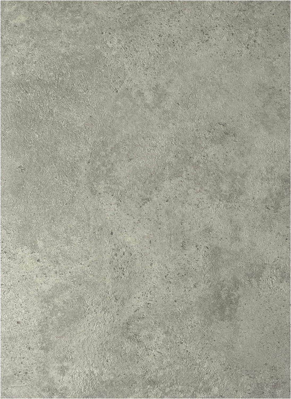 Sol PVC Best 2 x 6 m Ep 2,6 mm Effet B/éton Gris