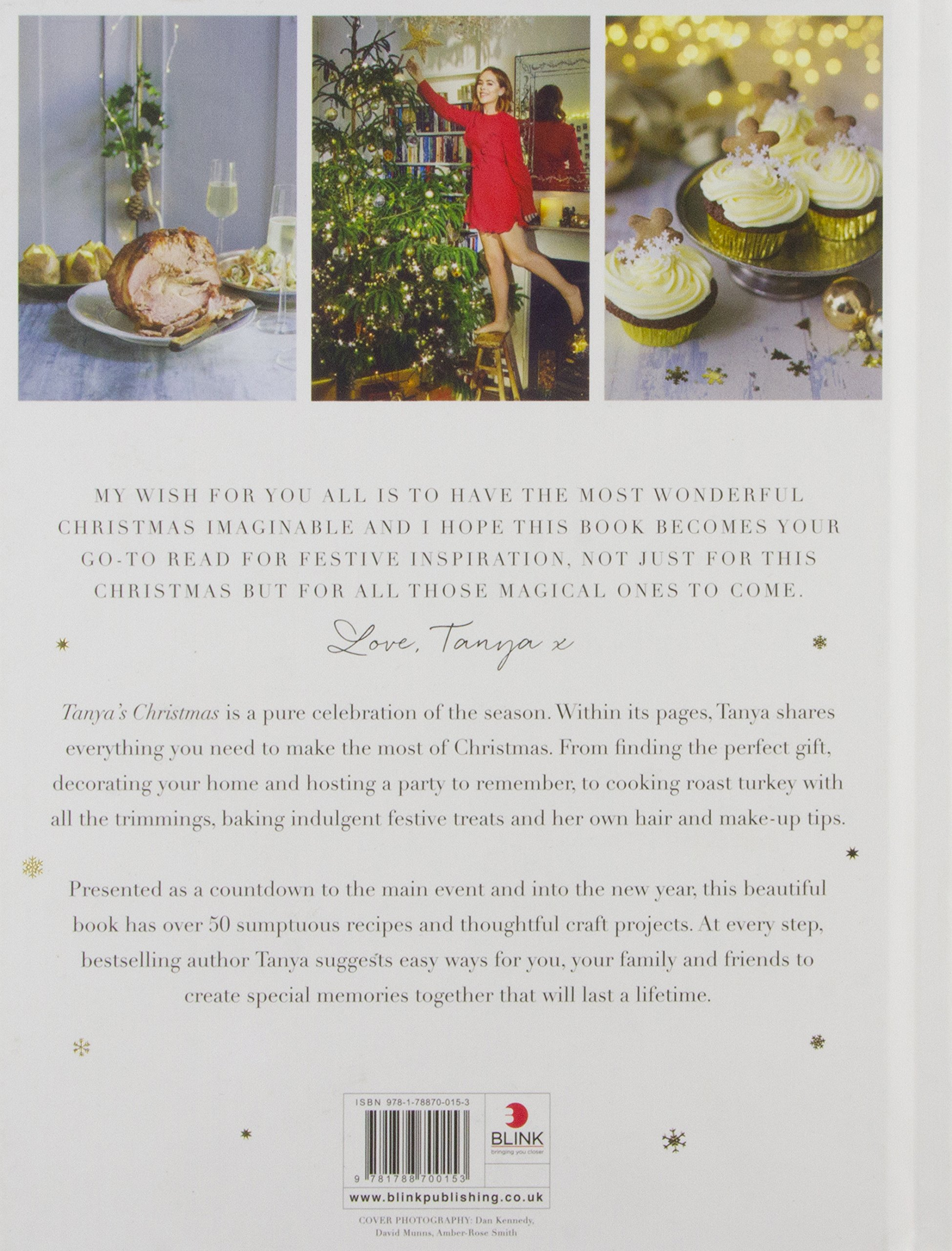 Tanya\'s Christmas: Make, Bake and Celebrate: Tanya Burr Limited ...