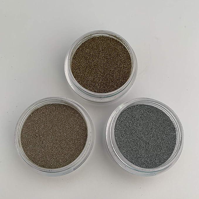 Staedtler Fimo Metallic Craft Powder Gold Silver Bronze Sparkle Choose Colour