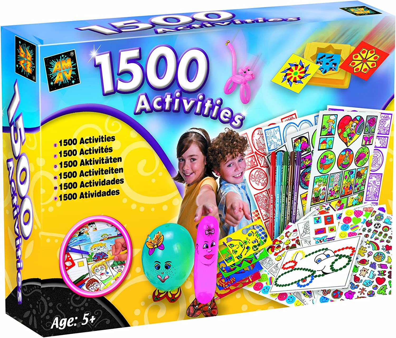 AMAV 1500 Arts and Craft Activity Kit