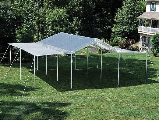 Gartenpro Kit Extensión De Cierre Lateral para Carpa Canopy Acero Box Muebles Jardín Exterior Casa: Amazon.es: Jardín