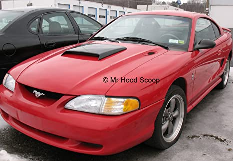 Amazon Com 1994 1995 1996 1997 1998 Hood Scoop For Ford Mustang