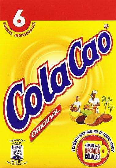 ColaCao - Original - Preparado alimenticio al cacao - 6 x 18 g