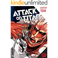 Attack on Titan #134 book cover