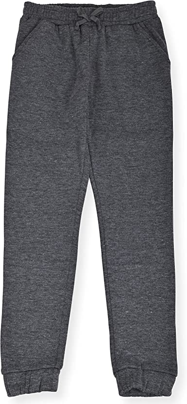 Star Ride Girls 3-Pack Fleece Active Jogger Sweatpants Kids Clothes for Athletic Fashion and Casual Wear