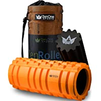 ZenRoller Foam Roller for Deep Tissue Muscle Massage, Trigger Point Massager, Muscle Tension Relief, promotes Blood…