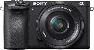 Sony Alpha a6500 24MP Mirrorless and 16-50mm Lens