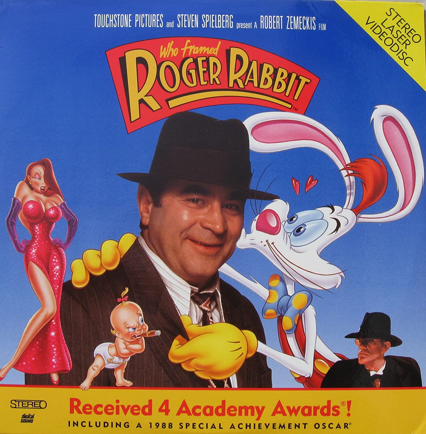 Amazon.com: Who Framed Roger Rabbit Video Laserdisc: Bob Hoskins ...