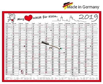 Colonia Calendario 2019, agenda (Año 2019 muy estable ...