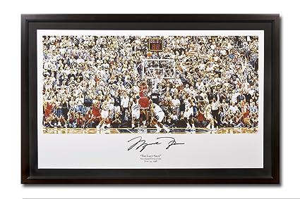 15d99e62e1f Michael Jordan Autographed Chicago Bulls  quot 98 Last Shot vs. Jazz quot   Chuck Gilles