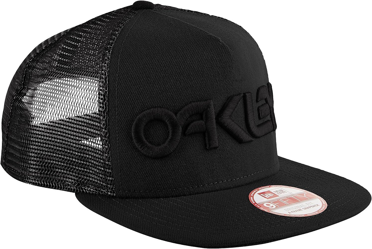 Oakley Fp Trucker Snapback – Gorra, Talla única, Color Negro ...