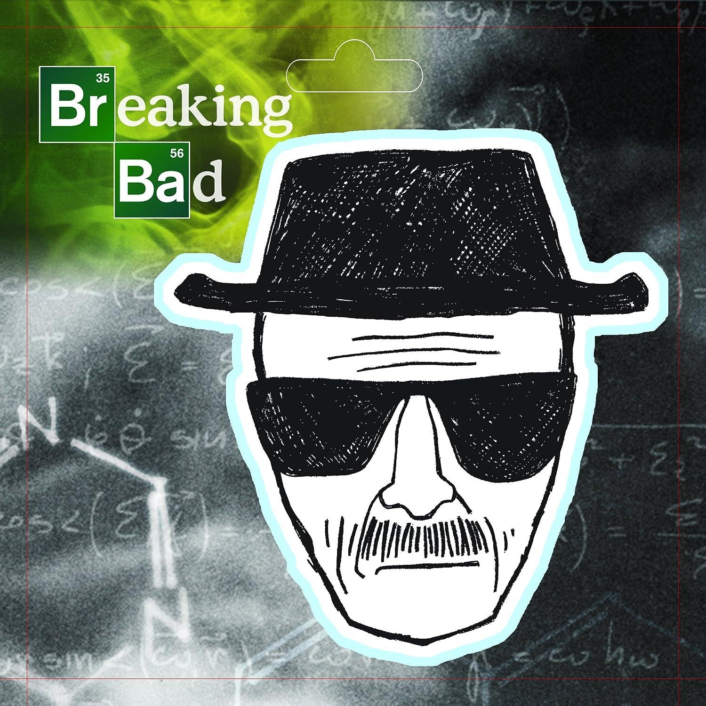 Breaking Bad Heisenberg Sketch Refrigerator Magnet ~ Licensed ~ Walter White