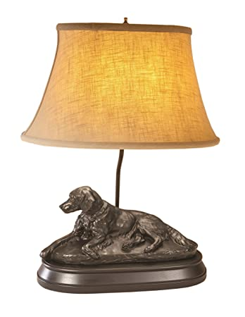 lamp and a f tale glass s item othr dog full scottie vintage brass c