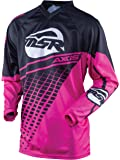 MSR Axxis Womens Jersey, Distinct Name: Black/Pink, Gender: Womens, Primary Color: Black, Size: Md, 352721