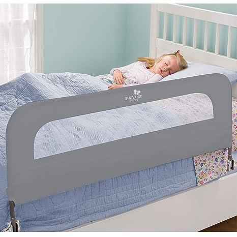 Amazon.com: Summer Infant Home Safe Exta Largo bedrial, Gris ...
