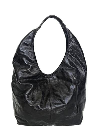 Amazon.com  Fgalaze Distressed Brown Leather Hobo Bag w Pockets ... 5243c99bf4b2b