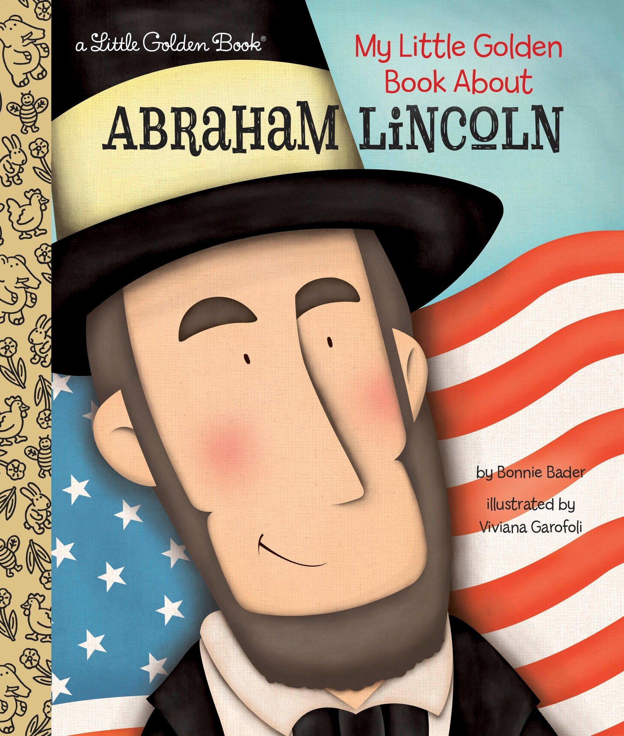 LGB My Little Golden Book About Abraham Lincoln por Bonnie Bader