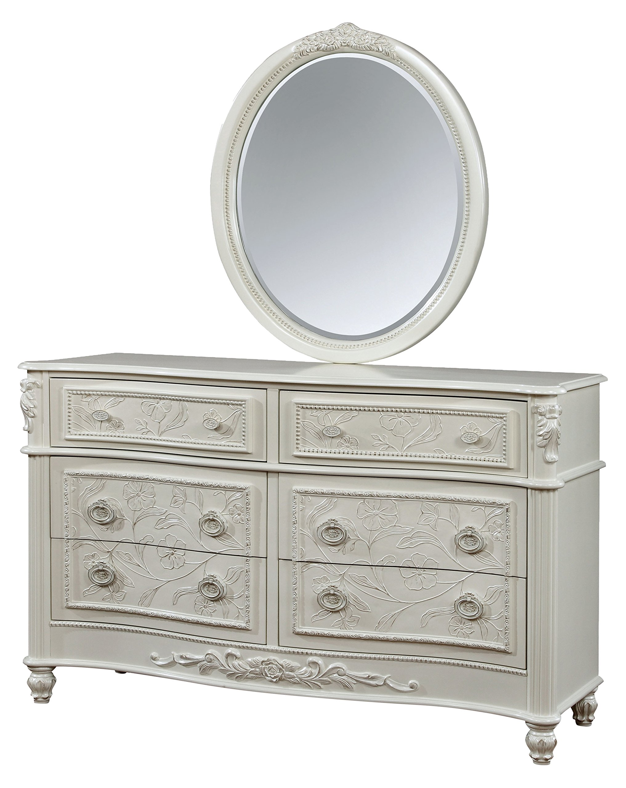 HOMES: Inside + Out IDF-7192-DM Raegon Dresser Mirror Childrens