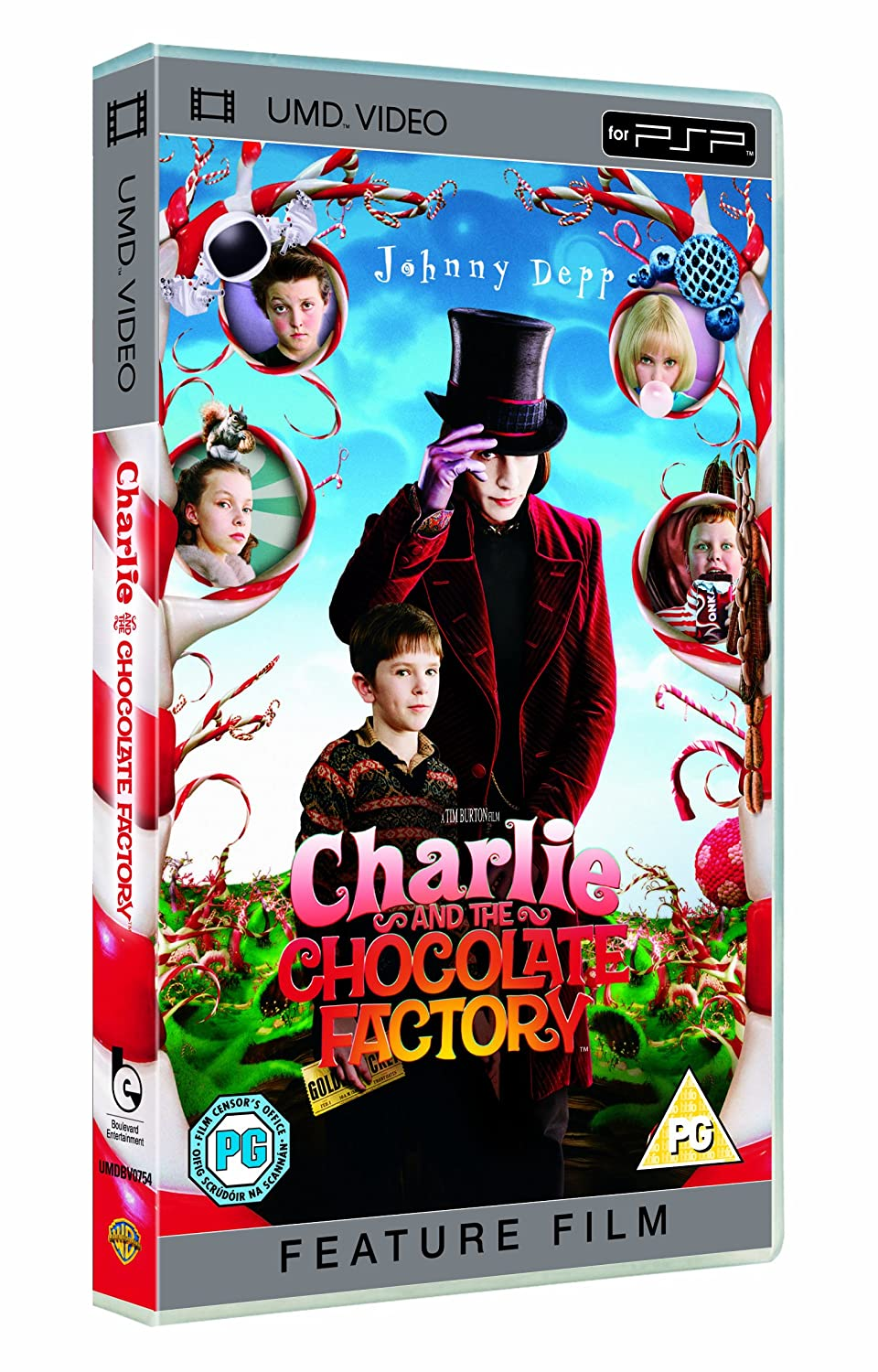 Amazon.com: Charlie And The Chocolate Factory [UMD for PSP ...