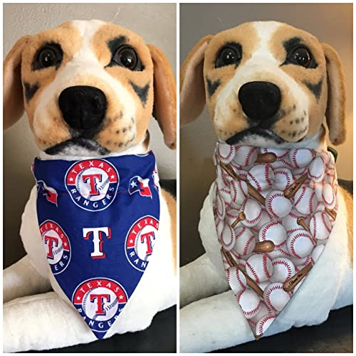 san francisco acdc5 35735 Amazon.com: MLB Reversible Pet Bandana Texas Rangers Over ...