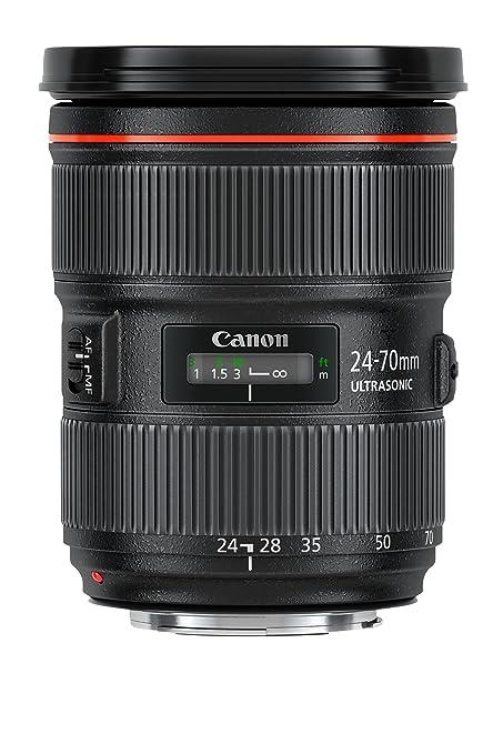 29 opinioni per Canon Obiettivo EF 24-70 mm, 1:2.8L II USM, Nero [Versione EU]