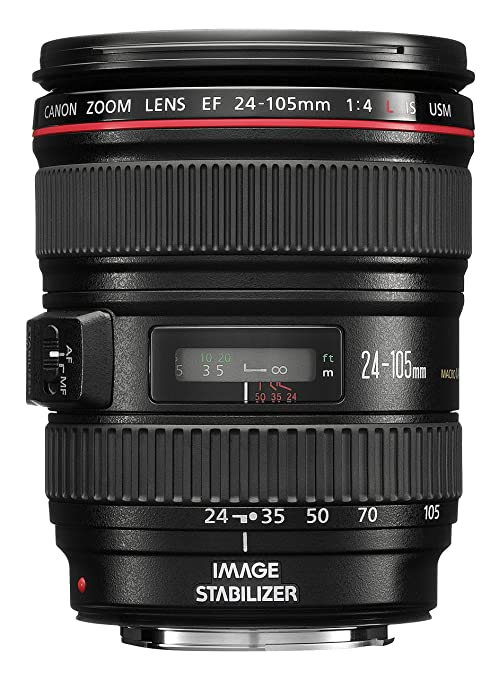 77 opinioni per Canon EF 24-105mm 1:4,0 L IS USM Obiettivo