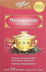 PRINCE OF PEACE Menopause Tea 18 Bag, 0.02 Pound