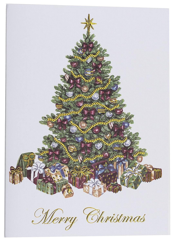 Amazon.com : Premium Christmas Cards - 20 Pack - Traditional ...